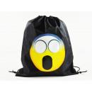 Emotikon Mogee sportowe torby, 39 x 34 cm, wrzeszc