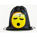 Emoticon, MOGee sports bag, 39 X 34 cm, Sleeping