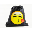 Emoticon, MOGee Sport bag, 39 X 34 cm, Kiss with