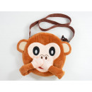Emoticon, MOGee Monkey Shoulder Bag, 23cm
