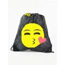 Emoticon, Mogee sporttas met achtergrond, 39 x
