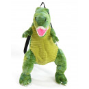 wholesale Backpacks: Dinor backpack 'T-Rex', green, with carryi