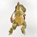 Dino hátizsák 'T-Rex', bézs, fogantyúval,