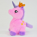 Laber-unicorn, chatter everything, pink with crown