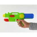 Waterpistol Medium-Pump Action, 3-colored, 33x6,8