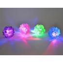 Großhandel Leuchtmittel: LED Knoten-Ball, blinkend, 75mm