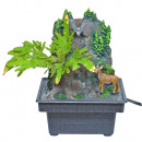wholesale Home & Living: Florawell, fountain, forest, 19 x 13,5 x 13,5 c