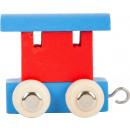 Vagone del treno delle lettere rosso e blu, 6x4x5,