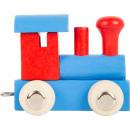 Locomotiva del treno delle lettere rossa e blu, 7x