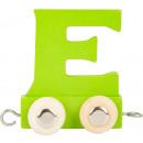 Treno delle lettere multicolore E, 7.5x4x6.5cm