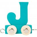 Buchstabenzug bunt J, 7,5x4x6,5cm