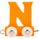 Buchstabenzug bunt N, 7,5x4x6,5cm