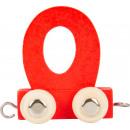 Buchstabenzug bunt O, 7,5x4x6,5cm