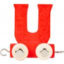 Buchstabenzug bunt U, 7,5x4x6,5cm