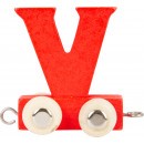 Buchstabenzug bunt V, 7,5x4x6,5cm
