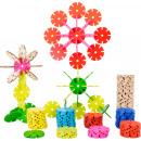 Fleurs en plug, 240 pièces, 5x5x0,20cm