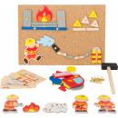 Hammer game fire brigade, 171 parts, 19x4.5x26cm