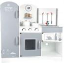 Großhandel Spielwaren: Kinderküche mit Kühlschrank, 83x33x83cm