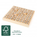 Abacus The small 1x1, 81 parts, 17.5x17.5x2,