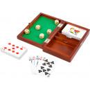 ingrosso Giocattoli: Scatola da gioco carte e dadi, 19x12x4cm