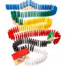 Domino rally, 490 pezzi, 9x3x9,5cm