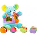 hurtownia Zabawki pluszowe & lalki: Miękka mysz z wtyczką, 18x12,5x24cm