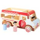 Camión de helados XL, 30x15x16cm
