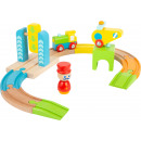 groothandel Speelgoed: Houten trein junior helikopter, 13 delig, 35x27