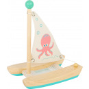 Waterspeelgoed catamaran octopus, 16x12x19cm