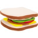 Fabric sandwich, 12 parts, 11x10x1.5cm