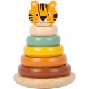 wholesale Toys: Stacking tower Tiger Safari , 7 parts, 10.5x10.5x