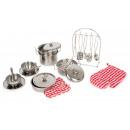 mayorista Casa y cocina: Batería de cocina XL, 20 piezas, 12x10x8cm