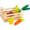 mayorista Jardin y Bricolage: Verduras de supermercado con caja, 7 partes, ...