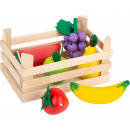 Fruits de magasin avec boîte, 7 parties, 18x12x9.5