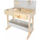 Children's workbench gray with accessories