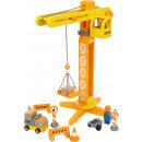 Grue de chantier avec accessoires de chantier, 13