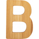 ABC letters bamboo B