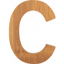 ABC letters bamboo C