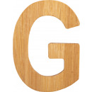 ABC letters bamboo G