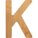ABC letters bamboo K