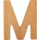 ABC letters bamboo M