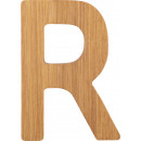 ABC letters bamboo R