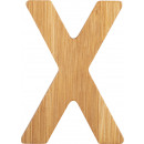 ABC letters bamboo X