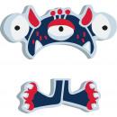 ABC betűk Monster Al, 7x6x0,5cm