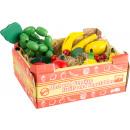 groothandel Woondecoratie: Trap met fruit, 12 delen, 17x13x8cm