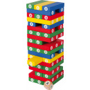 Number tower, 58 parts, 7.5x7.5x23.5cm