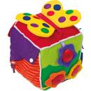 Cube de jeu bébé, 16x16x16cm
