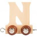 mayorista Casa y decoración: Tren de letras madera N, 7.5x4x6.5cm
