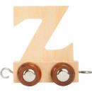 Lettere treno legno Z, 7.5x4x6cm