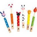 Animales flauta, 3,5x2x12cm